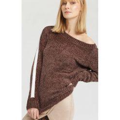 Brązowy Sweter Like You. Brązowe swetry klasyczne damskie marki other, na jesień, uniwersalny. Za 69,99 zł.