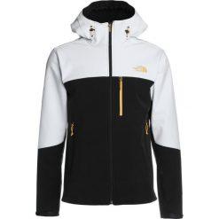 The North Face APEX BIONIC Kurtka Softshell white/black. Szare kurtki sportowe męskie marki The North Face, l, z materiału, z kapturem. W wyprzedaży za 639,20 zł.