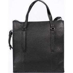 """Shopper bag damskie: Skórzany shopper bag """"FortyThree"""" w kolorze czarnym – 32 x 34 x 12,5 cm"""