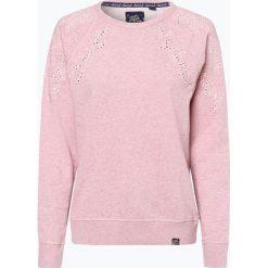 Superdry - Damska bluza nierozpinana, różowy. Czerwone bluzy damskie marki Superdry, l, w koronkowe wzory, z koronki. Za 299,95 zł.