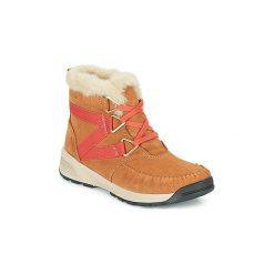 Śniegowce Columbia  MARAGAL MID WP. Szare buty zimowe damskie marki Columbia, z dzianiny. Za 477,00 zł.
