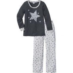 Piżamy damskie: Piżama bonprix antracytowy melanż
