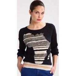 Swetry klasyczne damskie: Benetton MAGLIA Sweter black