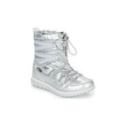 Śniegowce Kangaroos  K WOWI JOG RTX. Szare buty zimowe damskie KangaROOS. Za 269,00 zł.