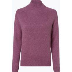 Marie Lund - Damski sweter z wełny merino, lila. Fioletowe swetry klasyczne damskie Marie Lund, xs, z dzianiny. Za 249,95 zł.