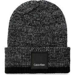Czapka męska CALVIN KLEIN BLACK LABEL - Calvin Glitch Beanie K50K503145 904. Czarne czapki damskie marki Calvin Klein Black Label, z materiału. W wyprzedaży za 169,00 zł.