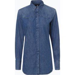 G-Star - Damska koszula jeansowa – Tacoma, niebieski. Białe koszule jeansowe damskie marki G-Star, z nadrukiem. Za 349,95 zł.