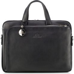 Torba na laptopa 20-3-041-1. Czarne torby na laptopa marki Wittchen, w paski, z tłoczeniem. Za 1429,00 zł.