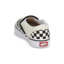 Tenisówki Dziecko  Vans  CLASSIC SLIP ON KIDS. Białe trampki chłopięce marki Vans. Za 149,00 zł.