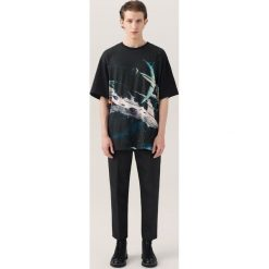 T-shirty męskie: T-shirt z nadrukiem re.design – Czarny