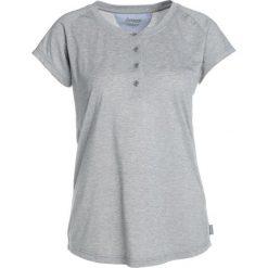 Bergans GULLHOLMEN LADY TEE  Tshirt basic grey mel. Szare topy sportowe damskie Bergans, xl, z bawełny. Za 169,00 zł.