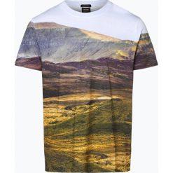BOSS Casual - T-shirt męski – Teedog 4, pomarańczowy. Brązowe t-shirty męskie z nadrukiem BOSS Casual, l, z bawełny. Za 279,95 zł.