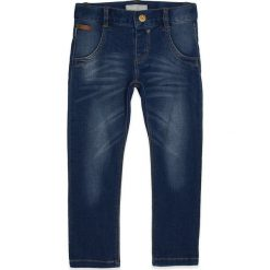 Name it - Jeansy dziecięce Rita 80-104cm. Niebieskie jeansy męskie regular Name it. W wyprzedaży za 49,90 zł.