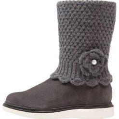 Geox THYMAR Kozaki dark grey. Niebieskie buty zimowe damskie marki Roxy, z tworzywa sztucznego, na wysokim obcasie. W wyprzedaży za 219,45 zł.
