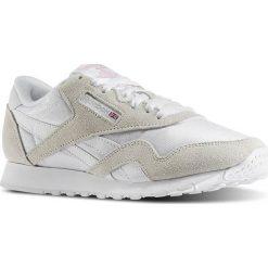 """Buty Reebok Classic Nylon OG """"White"""" (6394). Białe buty sportowe damskie reebok classic Reebok, z materiału. Za 149,99 zł."""