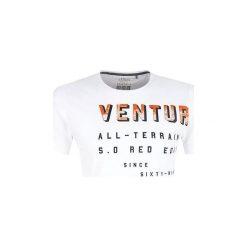 S.Oliver T-Shirt Męski Xl Biały. Niebieskie t-shirty męskie z nadrukiem marki Oakley, na lato, z bawełny, eleganckie. Za 59,90 zł.