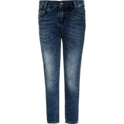 Blue Effect HIGHWAISTED Jeans Skinny Fit blue denim. Niebieskie jeansy dziewczęce marki Mango Kids, z aplikacjami, z bawełny. W wyprzedaży za 151,20 zł.