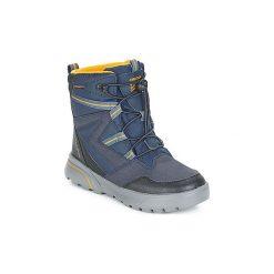 Śniegowce Dziecko Geox  J SVEGGEN BOY B ABX. Niebieskie buty zimowe chłopięce Geox. Za 369,00 zł.