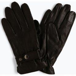 James - Rękawiczki męskie ze skóry, czarny. Czarne rękawiczki męskie marki James, ze skóry. Za 229,95 zł.