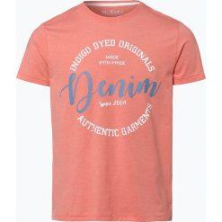 Mc Earl - T-shirt męski, pomarańczowy. Brązowe t-shirty męskie z nadrukiem Mc Earl, l, z bawełny. Za 49,95 zł.