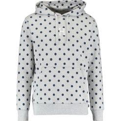 Bejsbolówki męskie: HUF THUNDER Bluza z kapturem grey heather