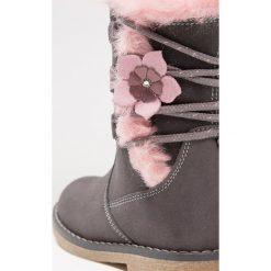 Friboo Śniegowce grey. Czerwone buty zimowe damskie marki Friboo, z materiału. W wyprzedaży za 146,30 zł.