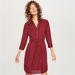 Sukienka we wzory - Fioletowy. Fioletowe sukienki marki Reserved. Za 59,99 zł.