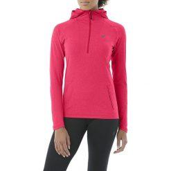 Bluzy rozpinane damskie: Asics Bluza Sportowa Damska LS Hoodie Różowa r. S - (144013-0699)