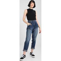 Odzież damska: Vans BRENTWOOD MOCK NECK Top black