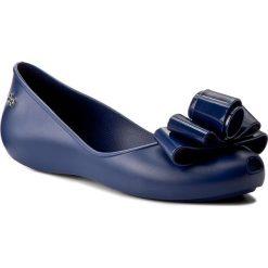 Baleriny ZAXY - Glam Fem 82259 Granat 01380 Y285051. Niebieskie baleriny damskie Zaxy, z materiału. W wyprzedaży za 99,00 zł.