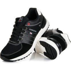 Buty skate męskie: Czarne buty sportowe ISABELLE