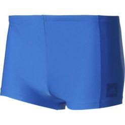 Kąpielówki męskie: Adidas Kąpielówki Essence Core Solid Boxer Niebieskie, Rozmiar 6 (BP5395*6)
