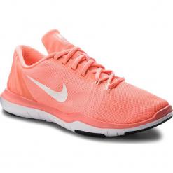 Buty NIKE - Flex Supreme Tr 5 852467 600 Lava Glow/White/University Red. Brązowe buty do fitnessu damskie Nike, z materiału, nike flex. W wyprzedaży za 249,00 zł.