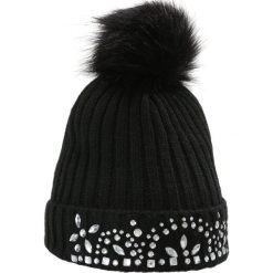 Czapki damskie: Miss Selfridge JEWEL HAT     Czapka black