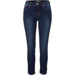 """Dżinsy 7/8 """"Powerstretch"""" bonprix ciemnoniebieski. Niebieskie jeansy damskie marki bonprix. Za 109,99 zł."""