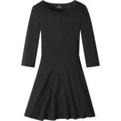 Sukienki dziewczęce: Sukienka bonprix czarny