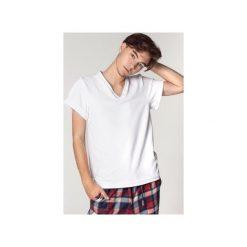 Męski biały T-shirt. Białe t-shirty męskie SOVL, l, z bawełny. Za 119,00 zł.