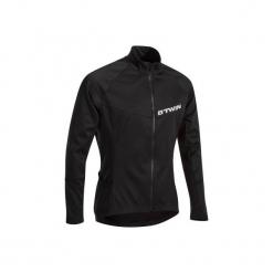 Koszulka długi rękaw na rower ROADCYCLING 500 męska. Czarne odzież rowerowa męska marki B'TWIN, m. Za 79,99 zł.