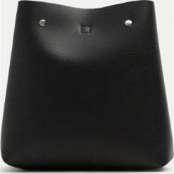 Plecaki damskie: Modny plecak w czarnym kolorze w miejskim stylu