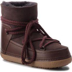 Buty INUIKII - Boot Classic 70101-7 D'Brown. Brązowe buty zimowe damskie Inuikii, z gumy. Za 1269,00 zł.