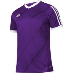 Adidas Koszulka piłkarska męska Tabela 14 fioletowo-biała r. XL (F50277). Białe t-shirty męskie marki Adidas, l, z jersey, do piłki nożnej. Za 55,61 zł.