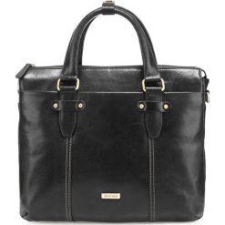 Torba na laptopa 85-3U-513-1. Czarne torby na laptopa marki Wittchen, w paski. Za 539,00 zł.