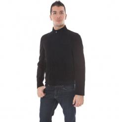Kurtka w kolorze czarnym. Niebieskie kurtki męskie marki GALVANNI, l, z okrągłym kołnierzem. W wyprzedaży za 629,95 zł.