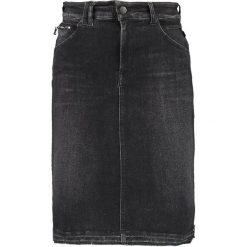Spódniczki: Replay SKIRT Spódnica ołówkowa  black denim
