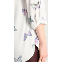 Tom Joule SLEEVE SHELL Bluzka cream. Białe bluzki damskie marki Tom Joule, z materiału, z długim rękawem. Za 269,00 zł.
