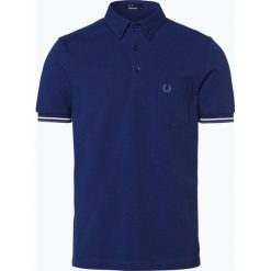 Fred Perry - Męska koszulka polo, niebieski. Niebieskie koszulki polo Fred Perry, m, w paski. Za 379,95 zł.