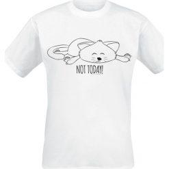 T-shirty męskie: Not Today T-Shirt biały