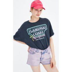 Odzież damska: Koszulka z krótkim rękawem Flamingo Coast