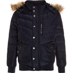 Teddy Smith BARNEY Kurtka zimowa dark navy. Brązowe kurtki chłopięce zimowe marki Teddy Smith, z materiału. W wyprzedaży za 356,15 zł.