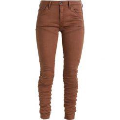 GStar 5620 STAQ 3D MID SKINNY COJ  Jeansy Slim Fit dark plum. Szare jeansy damskie marki G-Star. W wyprzedaży za 389,40 zł.